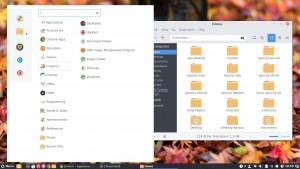 Apricity OS Cinnamon Desktop 2